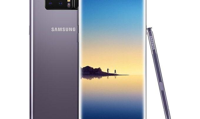 سعر موبايل Samsung Galaxy Note 8 فى مصر